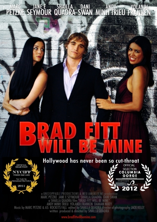"""BRAD FITT WILL BE MINE"" Poster"