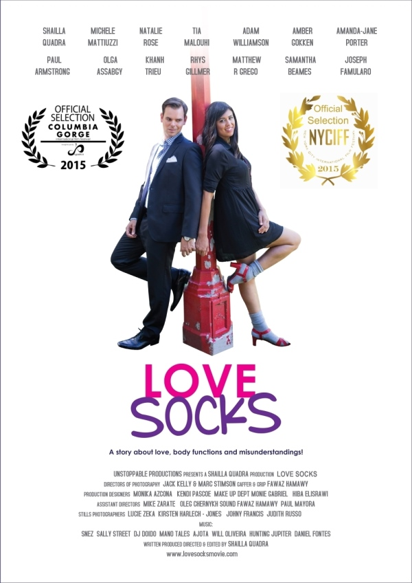 love socks movie poster by shailla
