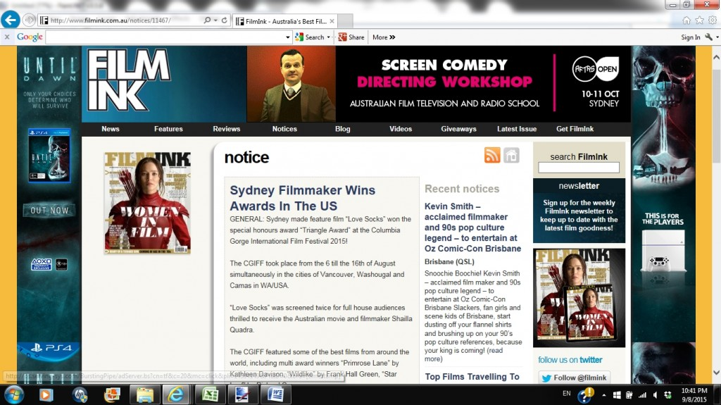 love socks movie featured at filmink