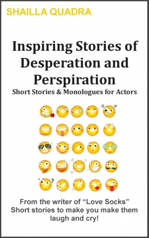 "Check out the writer's new book ""Inspiring Stories of Desperation & Perspiration"""